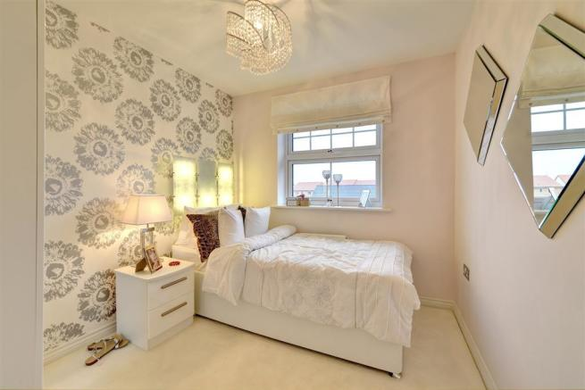 Image depicts a typical 4 bedroom Taylor Wimpey home