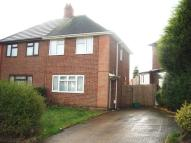 semi detached house in Overdale Road, Quinton...