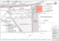property for sale in Land At Former Glassworks Site, Snape Lane , Harworth, Doncaster, DN11 8NF
