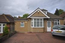 Bungalow to rent in Hillside Road, Northwood...