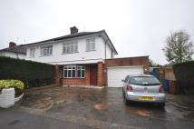 4 bedroom semi detached home to rent in Cannonbury Avenue...