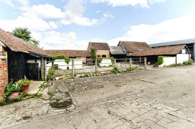 Courtyard Of Barns