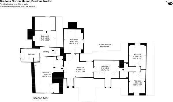 Floor plan-Second floor