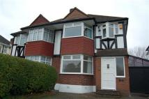 semi detached property in Beverley Way...