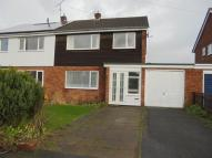 3 bed semi detached home to rent in Admaston Road Wellington...