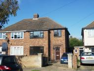 Hatfield Crescent semi detached property to rent