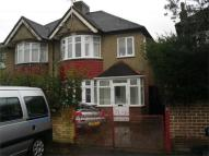 semi detached property in Wellington Road South...