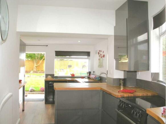 Split Level Kitchen/