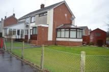End of Terrace house in Loch Road, Mauchline...