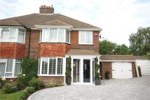 semi detached home for sale in Chetwode Drive, Epsom...