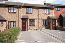 Terraced home for sale in Morston Close, Tadworth...