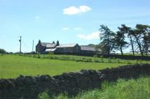 Detached home in High Keenley Fell Farm...