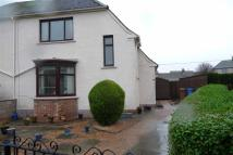 semi detached property in Churchill Crescent...