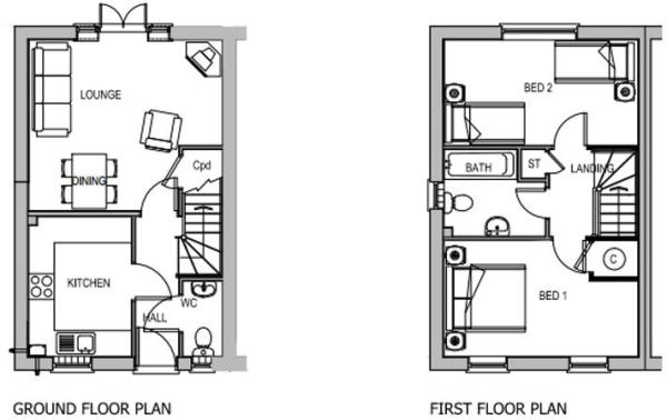 Floor Layout- Type B