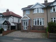 4 bed semi detached house in Kenmore Crescent...