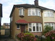 3 bed semi detached property in Walfield Avenue...
