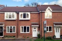 Terraced house in Rivetts Close, Olney...