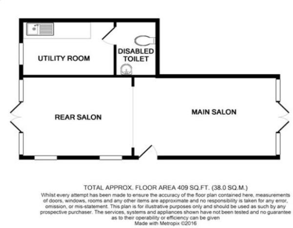 Floor plan annexe