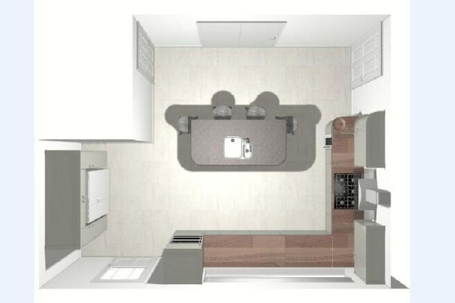 Impression of kitchen*