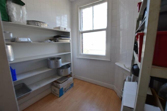 First Floor- Storage