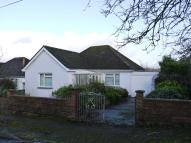 Bungalow in Dragons Mead, Axminster...