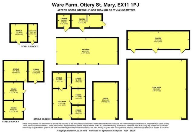Floorplan - Barns