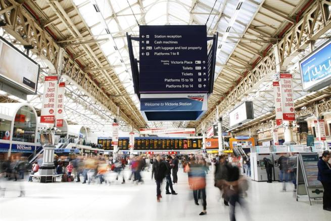 Victoria Station,