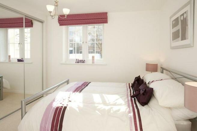 Typical 2 bedroom apartment bedroom interior