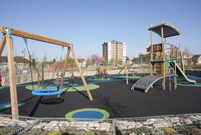 The Lyng childrens play area