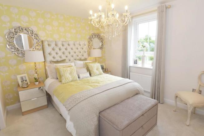 Typical Giles master bedroom