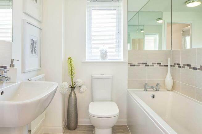 Typical Regis family bathroom