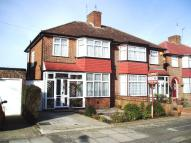 4 bed semi detached home to rent in Braemar Gardens, London...