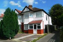 Sheaveshill Avenue semi detached house to rent