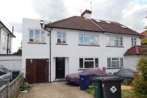 semi detached house to rent in ELLESMERE AVENUE, London...