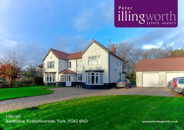 5 bedroom detached house for sale in hillcrest keldholme kirkbymoorside york yo62 6nd yo62