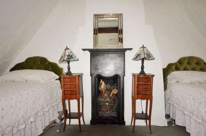 Fireplace in Bedroom Two