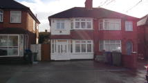 Brinkburn Gardens semi detached property to rent