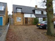 semi detached property in Park Crescent, Elstree...