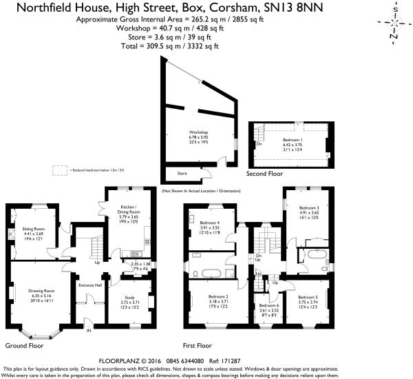 Northfield House 171287 fp (1)-A4 Landscape