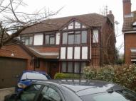 Detached house in Salisbury Close...