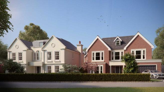 23 and 23a Water Lane Front CGI