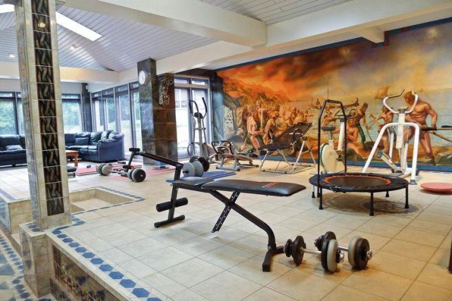 Gym Area With ...