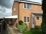 semi detached home to rent in Curlew Avenue, Eckington...