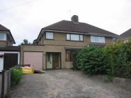 semi detached property to rent in Hunters Lane, Watford...