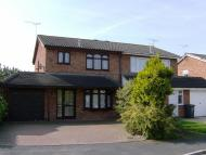 3 bedroom semi detached home to rent in Pillaton Close...