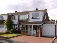 4 bedroom semi detached house in Grange Avenue, Penkridge...