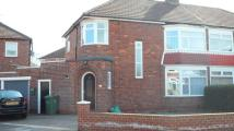 3 bedroom semi detached home in Harlsey Crescent...