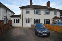 Bazalgette Gardens semi detached house to rent