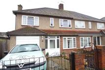 semi detached property for sale in Ruskin Avenue, Welling...