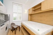 Studio flat in Lupus Street, London...